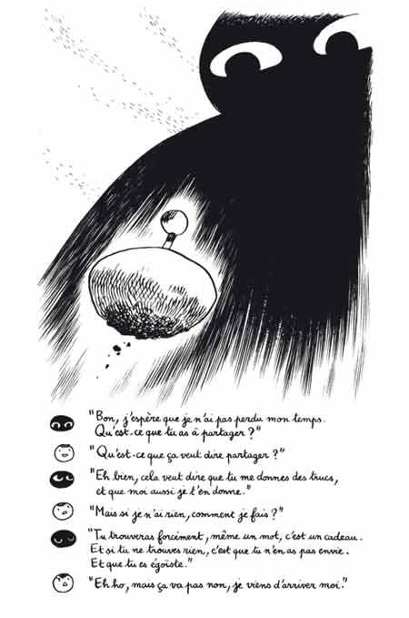 BD Le Trop Grand Vide d'Alphonse Tabouret