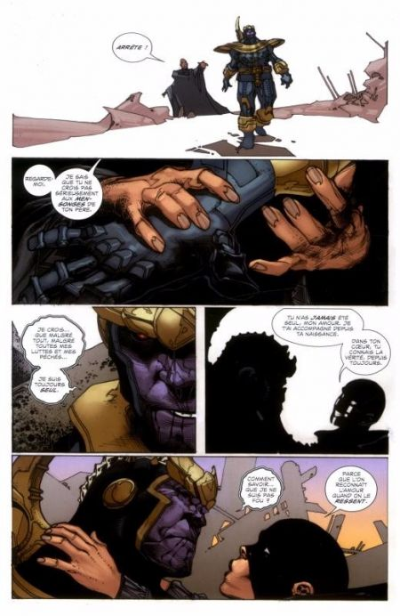 BD L'ascension de Thanos