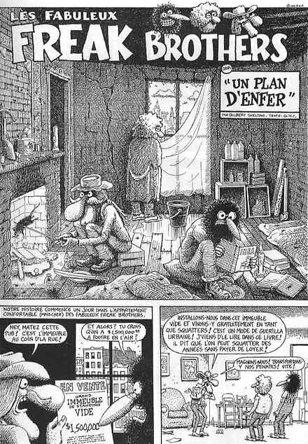bd theque comics les fabuleux freak brothers. Black Bedroom Furniture Sets. Home Design Ideas