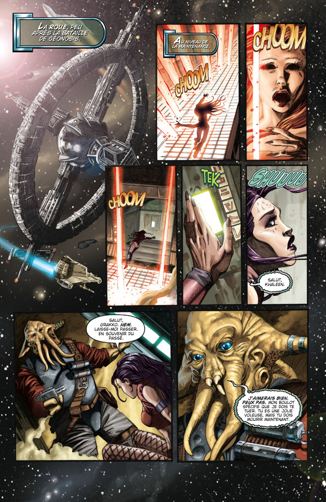 bande dessinee star wars