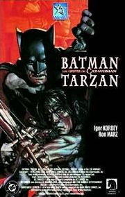 BD Batman/Tarzan - Les griffes de Cat-Woman