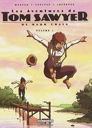 BD Les Aventures de Tom Sawyer de Mark Twain