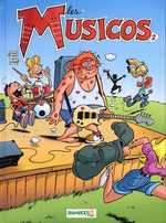BD Les Musicos (Rob, Wed & c°) - Les Musicos, tome 2