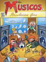 BD Les Musicos (Rob, Wed & c°) - Les Musicos, tome 3