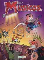 BD Les Musicos (Rob, Wed & c°) - Les Musicos, tome 4