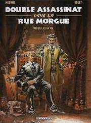 BD Double assassinat dans la rue Morgue, d'Edgar Allan Poe