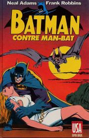 BD Batman contre Man-Bat
