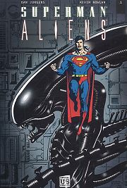 BD Superman - Aliens