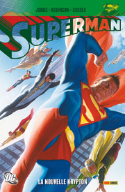 BD Superman - Saga Nouvelle Krypton - La Nouvelle Krypton