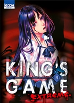 BD King's Game Extreme - King's Game Extreme - tome 3