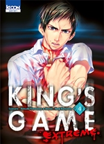 BD King's Game Extreme - King's Game Extreme - tome 4
