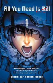 Accéder à la BD All You Need is Kill