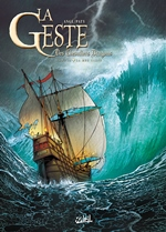 BD La Geste des Chevaliers Dragons - La Mer Close