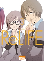 BD ReLIFE - ReLIFE - tome 3
