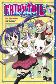 BD Fairy Tail - Blue Mistral - Tome 1
