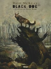 BD Black Dog, les rêves de Paul Nash