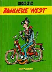BD Rocky Luke - Banlieue west